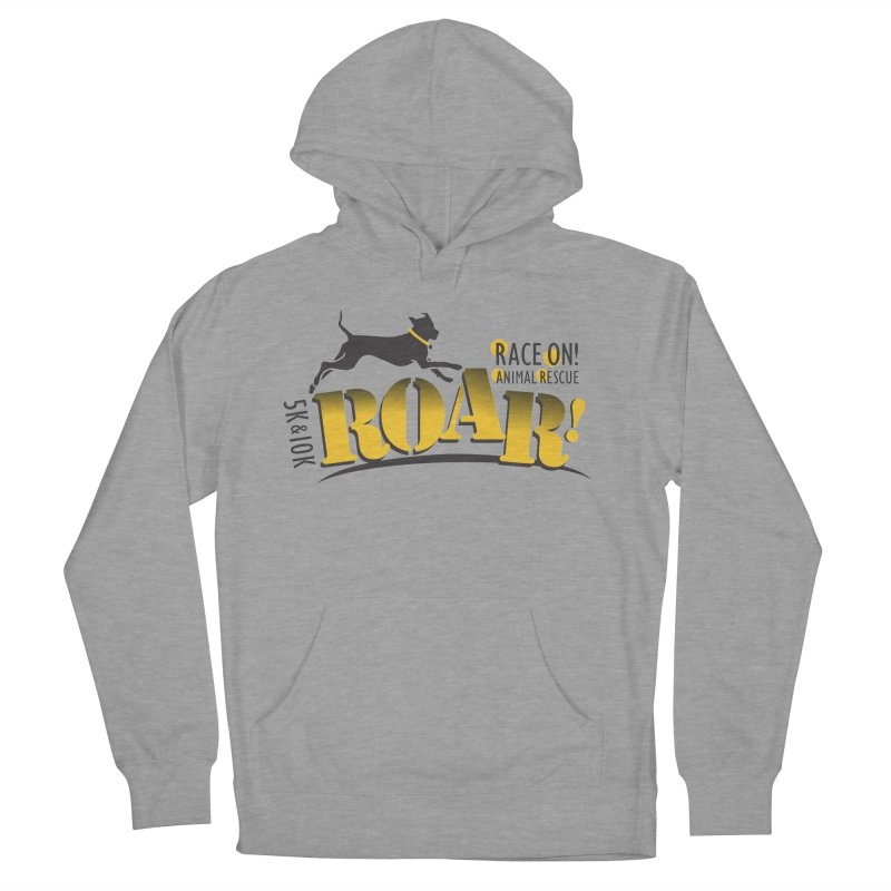 ROAR! Race On Animal Rescue Women's French Terry Pullover Hoody by FayeKleinDesign's Artist Shop