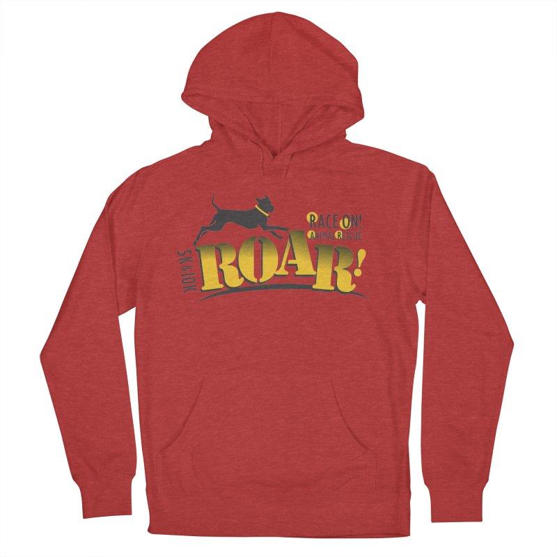 ROAR! Race On Animal Rescue Women's Pullover Hoody by FayeKleinDesign's Artist Shop