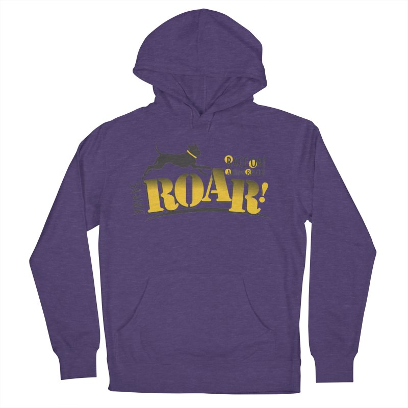 ROAR! Race On Animal Rescue Men's Pullover Hoody by FayeKleinDesign's Artist Shop