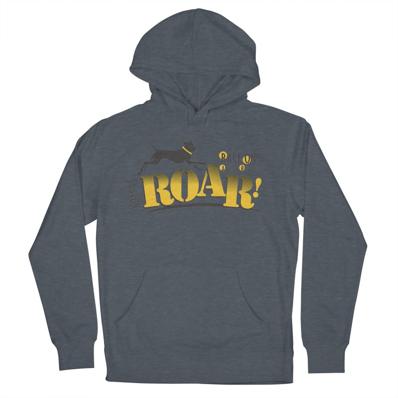 ROAR! Race On Animal Rescue Men's French Terry Pullover Hoody by FayeKleinDesign's Artist Shop