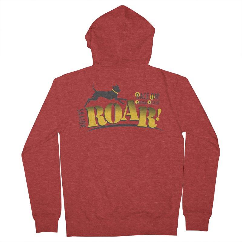 ROAR! Race On Animal Rescue Women's Zip-Up Hoody by FayeKleinDesign's Artist Shop