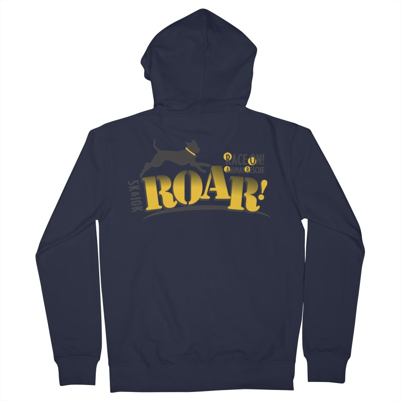 ROAR! Race On Animal Rescue Women's Zip-Up Hoody by FayeKleinDesign's Artist Shop