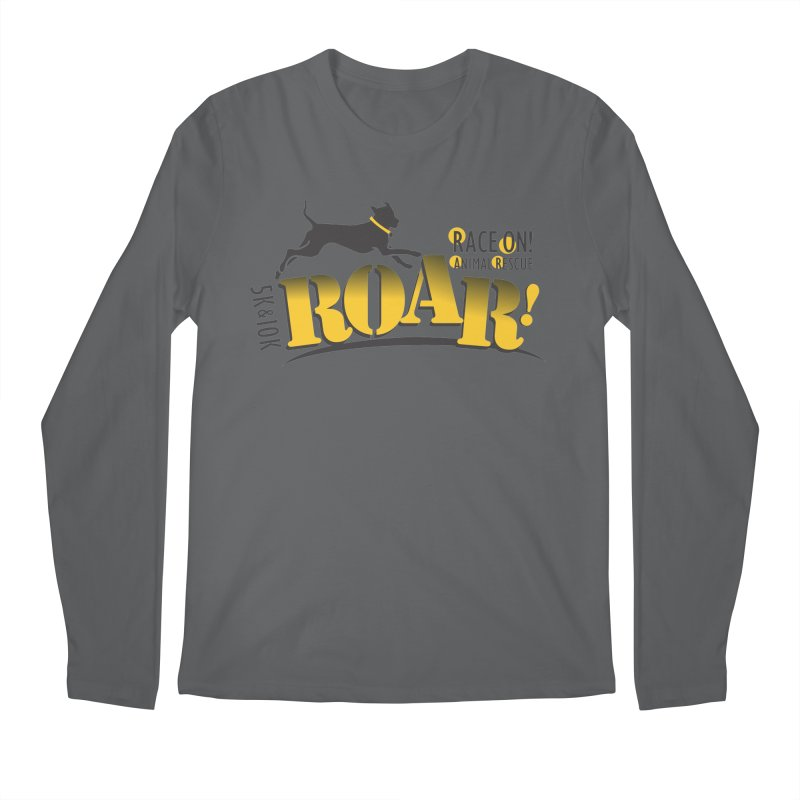 ROAR! Race On Animal Rescue Men's Longsleeve T-Shirt by FayeKleinDesign's Artist Shop