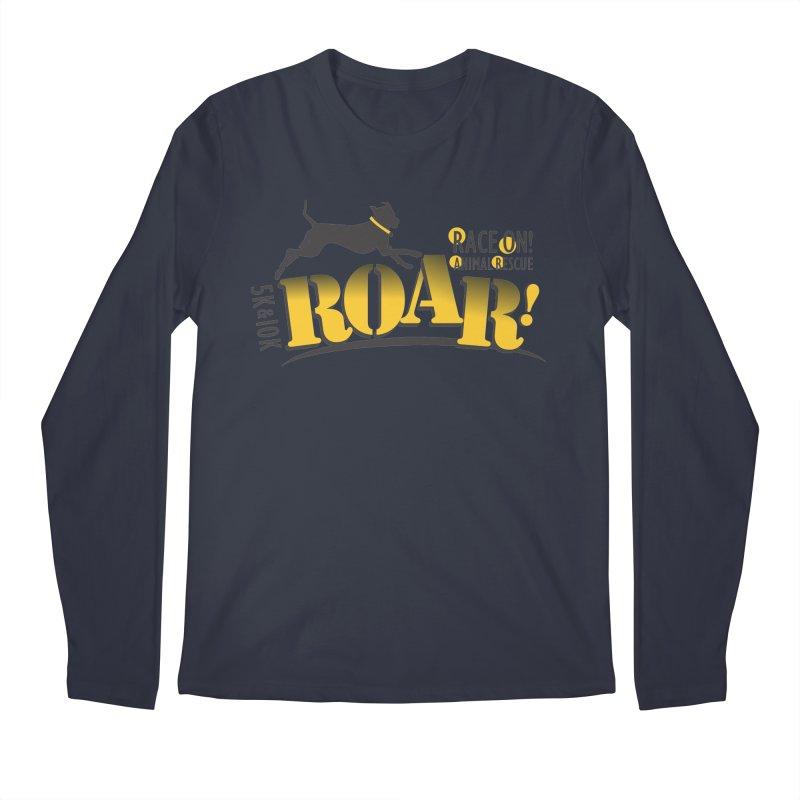ROAR! Race On Animal Rescue Men's Regular Longsleeve T-Shirt by FayeKleinDesign's Artist Shop