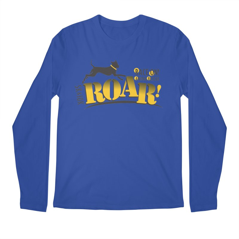 ROAR! Race On Animal Rescue Men's Regular Longsleeve T-Shirt by FayeKleinDesign's Artist Shop
