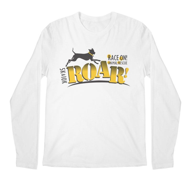 ROAR! Race On Animal Rescue Men's Longsleeve T-Shirt by FayeKleinDesign's Artist Shop