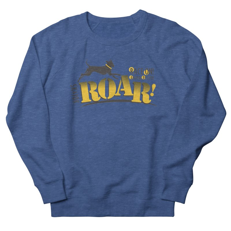 ROAR! Race On Animal Rescue Men's Sweatshirt by FayeKleinDesign's Artist Shop