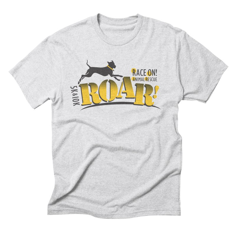 ROAR! Race On Animal Rescue Men's Triblend T-Shirt by FayeKleinDesign's Artist Shop