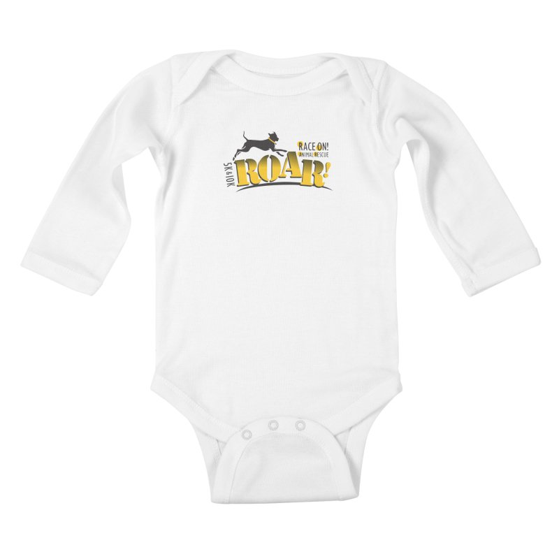ROAR! Race On Animal Rescue Kids Baby Longsleeve Bodysuit by FayeKleinDesign's Artist Shop