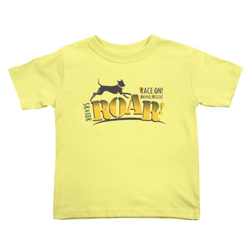ROAR! Race On Animal Rescue Kids Toddler T-Shirt by FayeKleinDesign's Artist Shop