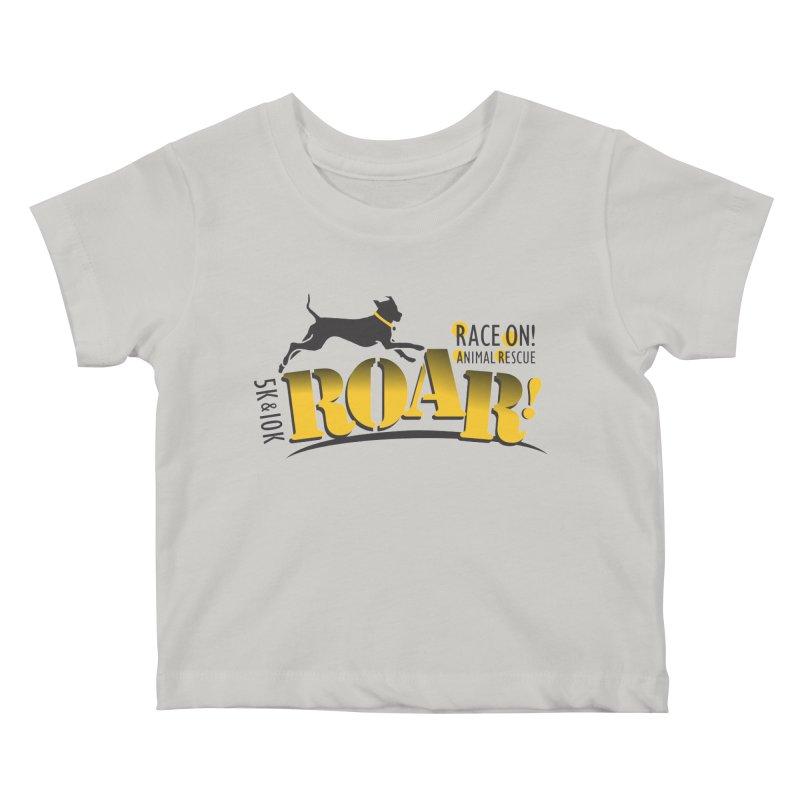 ROAR! Race On Animal Rescue Kids Baby T-Shirt by FayeKleinDesign's Artist Shop