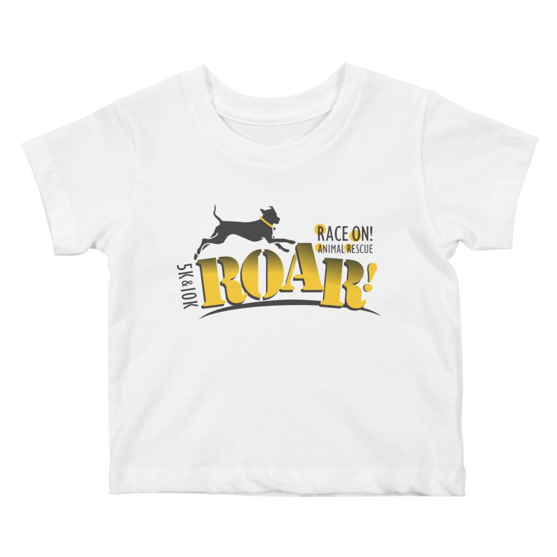 ROAR! Race On Animal Rescue Kids Baby T-Shirt by FayeKleinDesign's Artist Shop