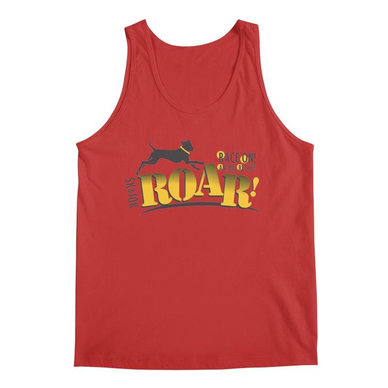 ROAR! Race On Animal Rescue Men's Regular Tank by FayeKleinDesign's Artist Shop