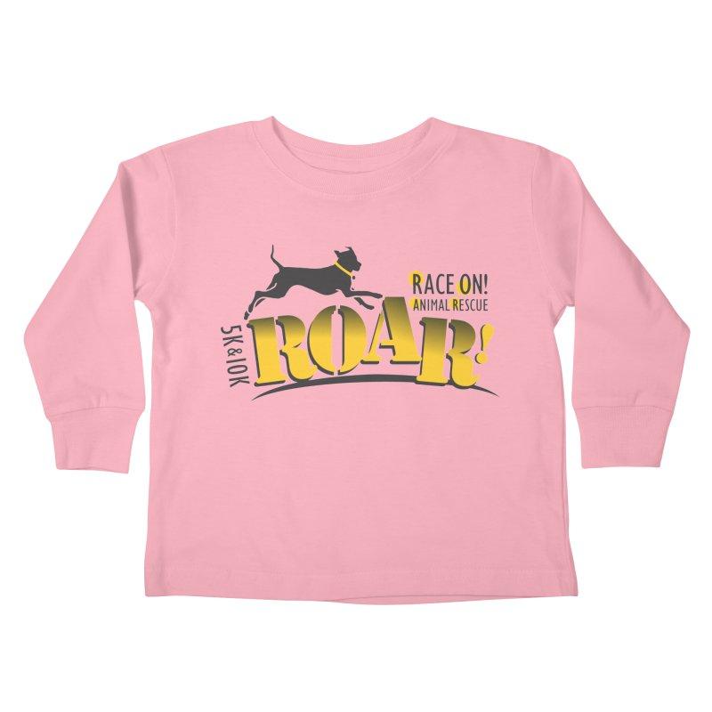 ROAR! Race On Animal Rescue Kids Toddler Longsleeve T-Shirt by FayeKleinDesign's Artist Shop