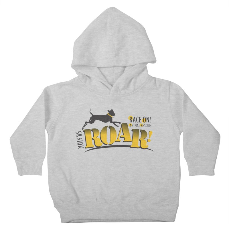 ROAR! Race On Animal Rescue Kids Toddler Pullover Hoody by FayeKleinDesign's Artist Shop