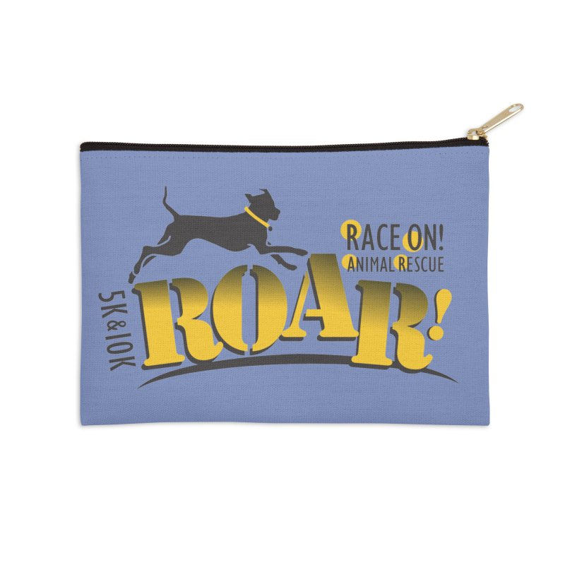 ROAR! Race On Animal Rescue Accessories Zip Pouch by FayeKleinDesign's Artist Shop