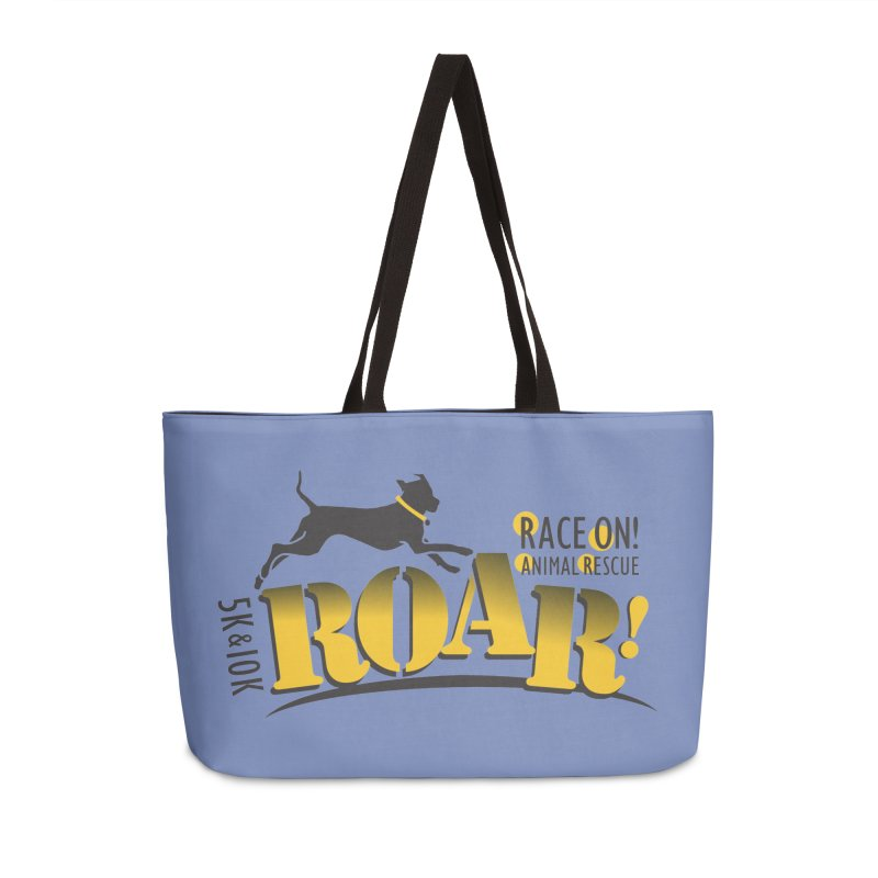 ROAR! Race On Animal Rescue Accessories Weekender Bag Bag by FayeKleinDesign's Artist Shop