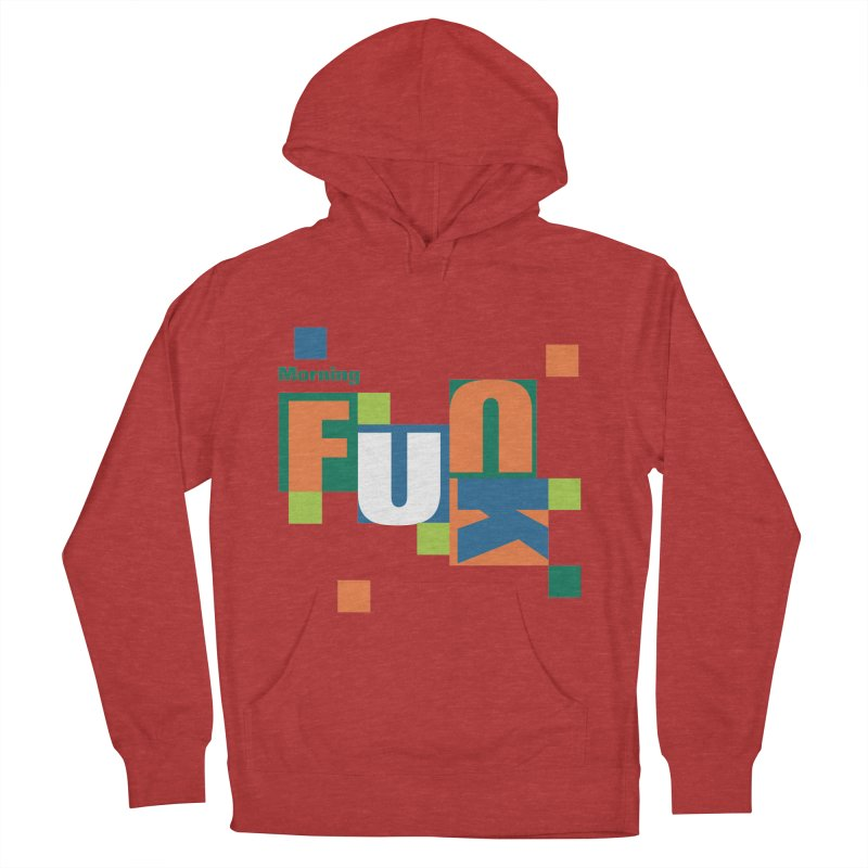 Morning Mood Men's French Terry Pullover Hoody by FayeKleinDesign's Artist Shop