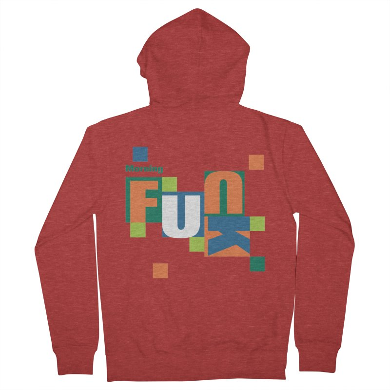 Morning Mood Women's French Terry Zip-Up Hoody by FayeKleinDesign's Artist Shop