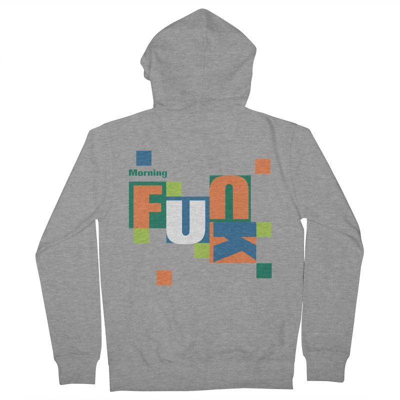 Morning Mood Men's French Terry Zip-Up Hoody by FayeKleinDesign's Artist Shop
