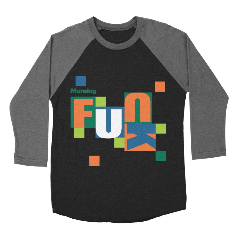 Morning Mood Men's Baseball Triblend Longsleeve T-Shirt by FayeKleinDesign's Artist Shop
