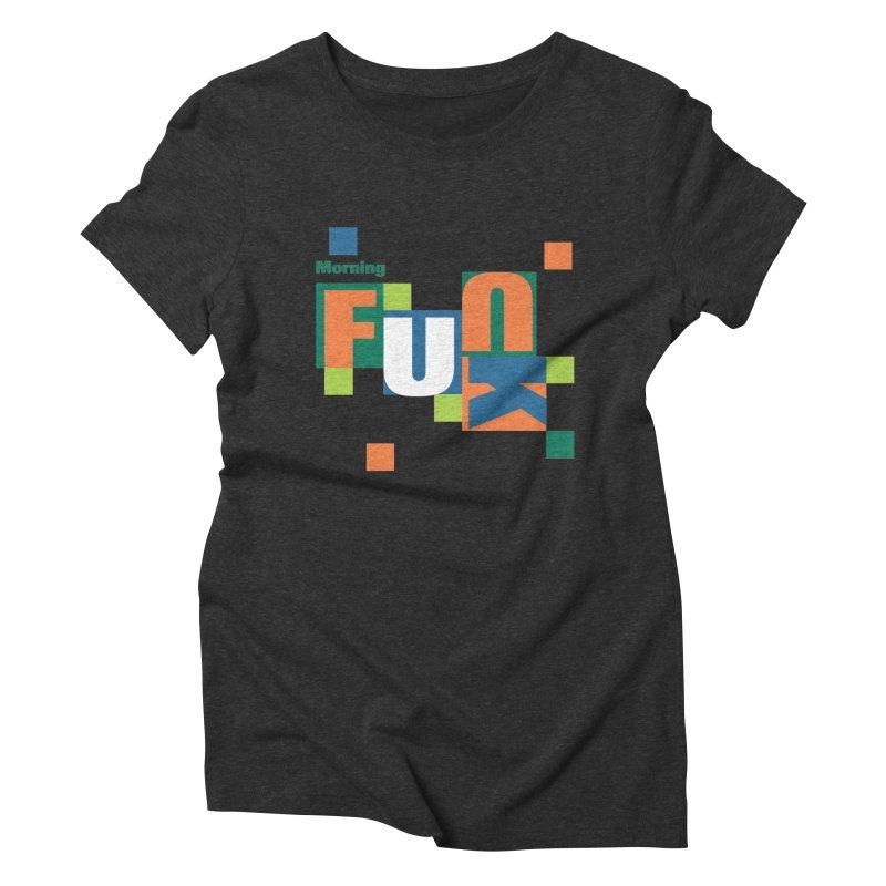 Morning Mood Women's Triblend T-Shirt by FayeKleinDesign's Artist Shop