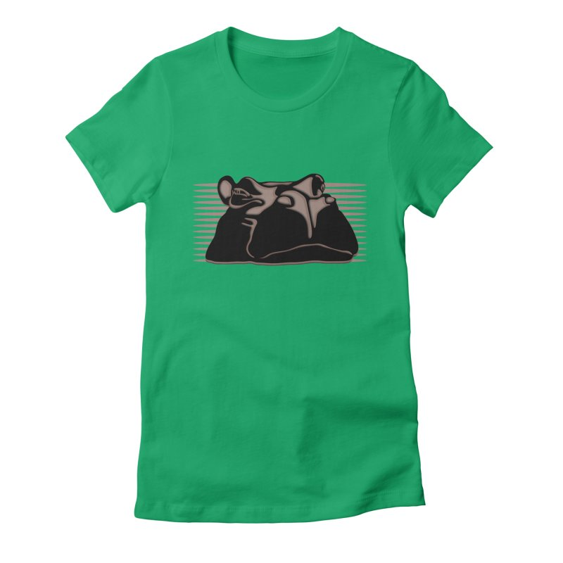 Hip Stirs Women's Fitted T-Shirt by FayeKleinDesign's Artist Shop