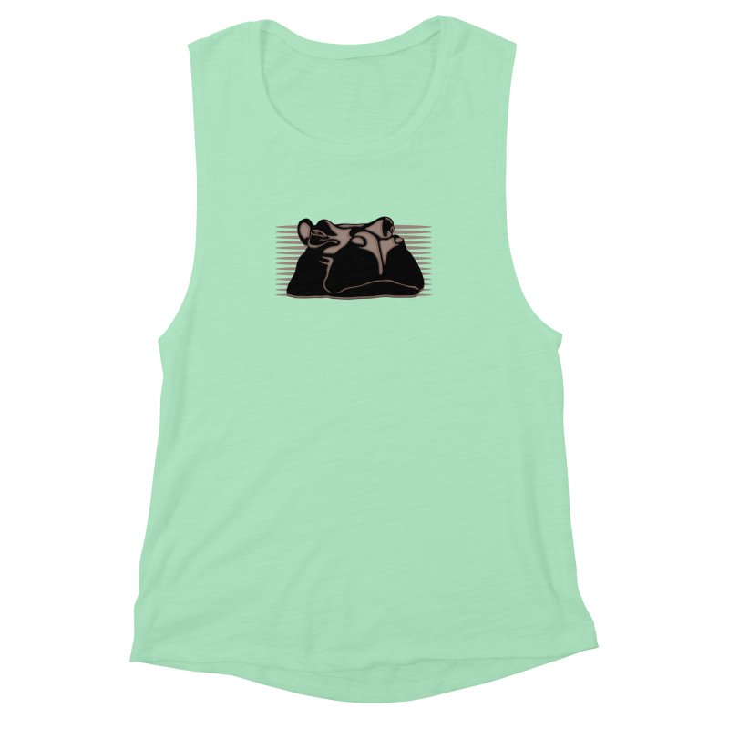 Hip Stirs Women's Muscle Tank by FayeKleinDesign's Artist Shop