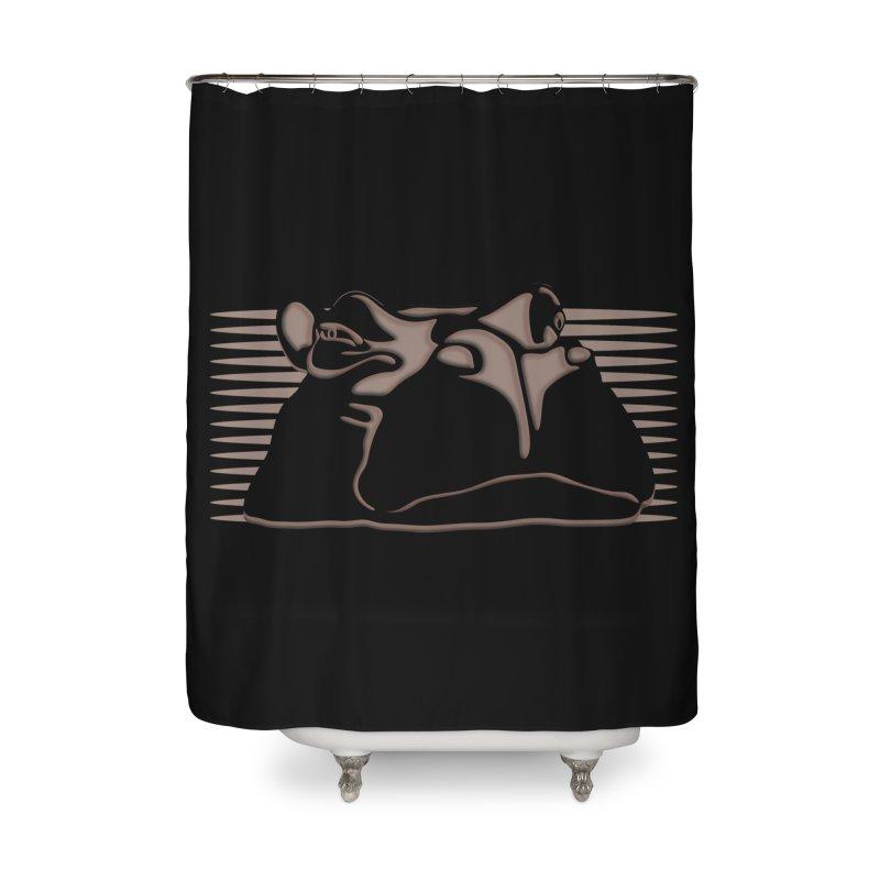 Hip Stirs Home Shower Curtain by FayeKleinDesign's Artist Shop
