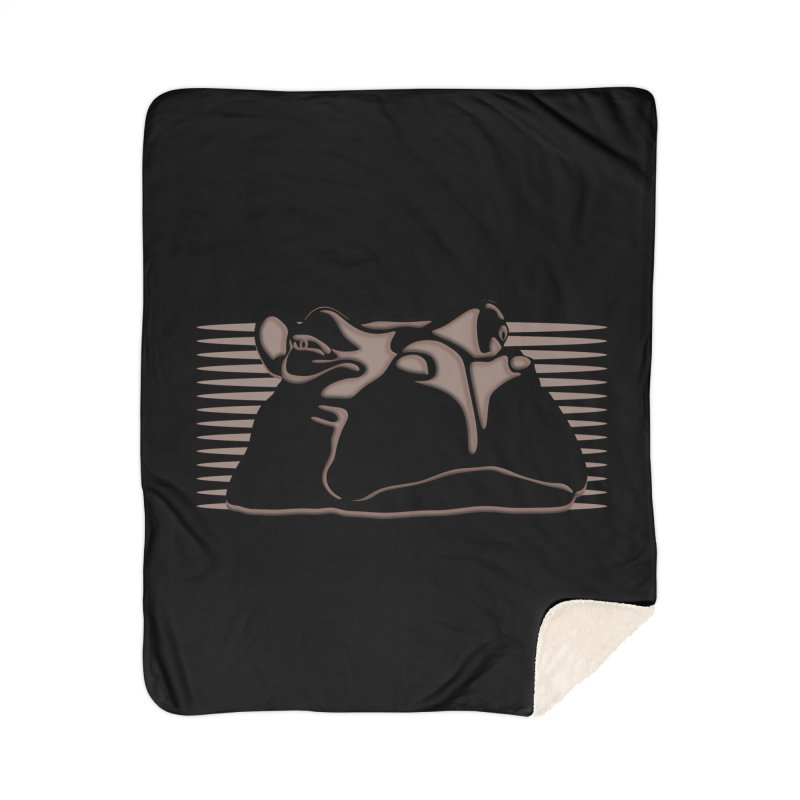 Hip Stirs Home Sherpa Blanket Blanket by FayeKleinDesign's Artist Shop