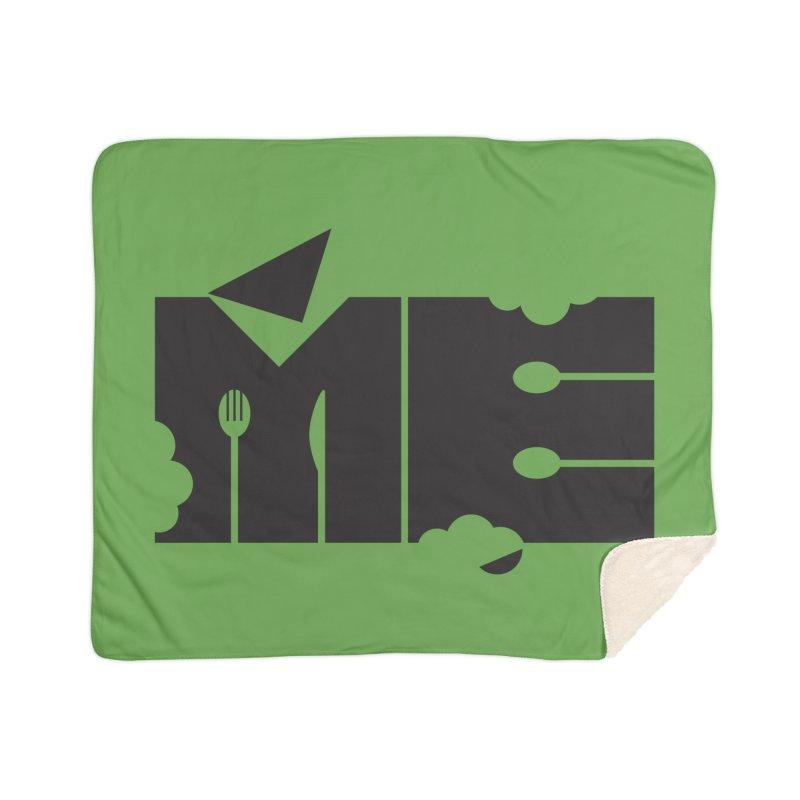 Bite Me Home Sherpa Blanket Blanket by FayeKleinDesign's Artist Shop