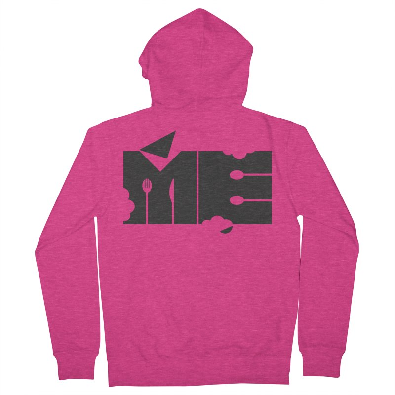 Bite Me Women's French Terry Zip-Up Hoody by FayeKleinDesign's Artist Shop
