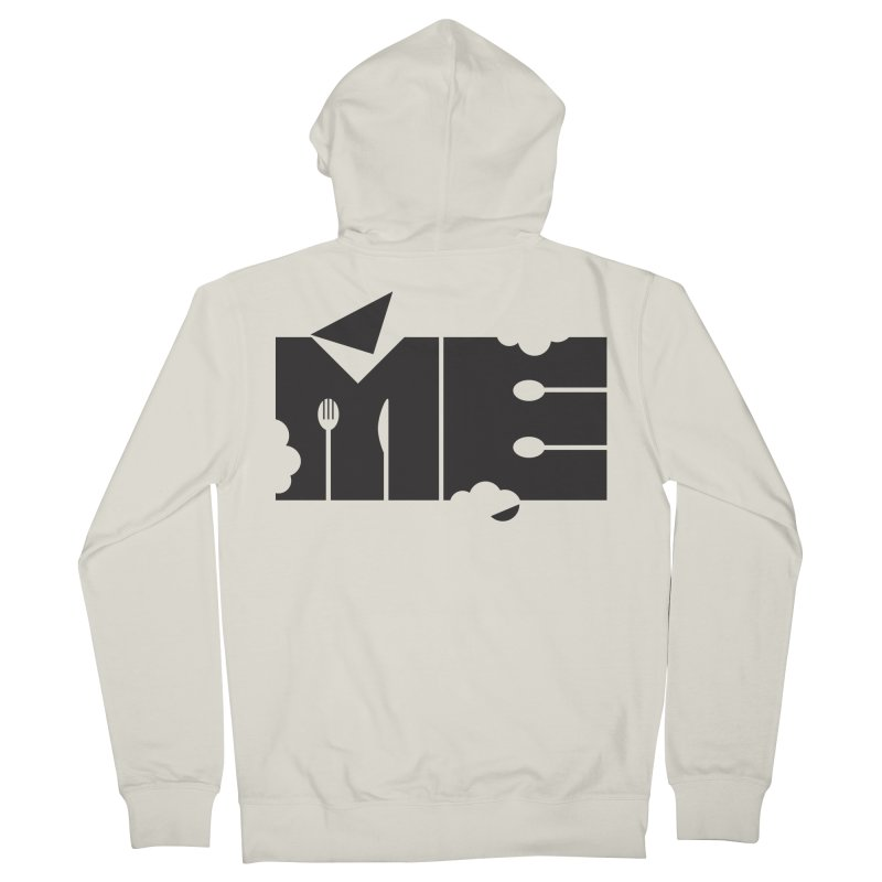 Bite Me Men's French Terry Zip-Up Hoody by FayeKleinDesign's Artist Shop