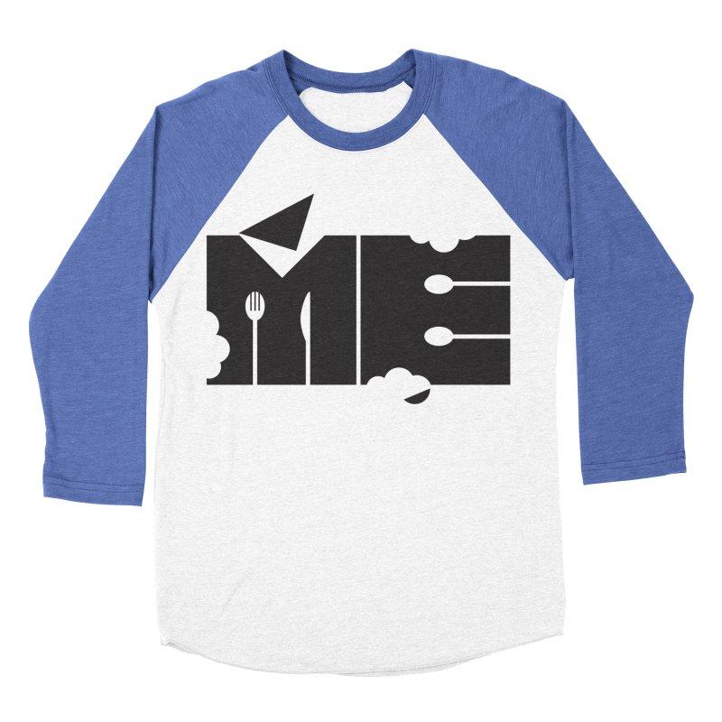 Bite Me Women's Baseball Triblend T-Shirt by FayeKleinDesign's Artist Shop