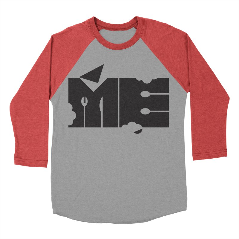 Bite Me Women's Baseball Triblend Longsleeve T-Shirt by FayeKleinDesign's Artist Shop