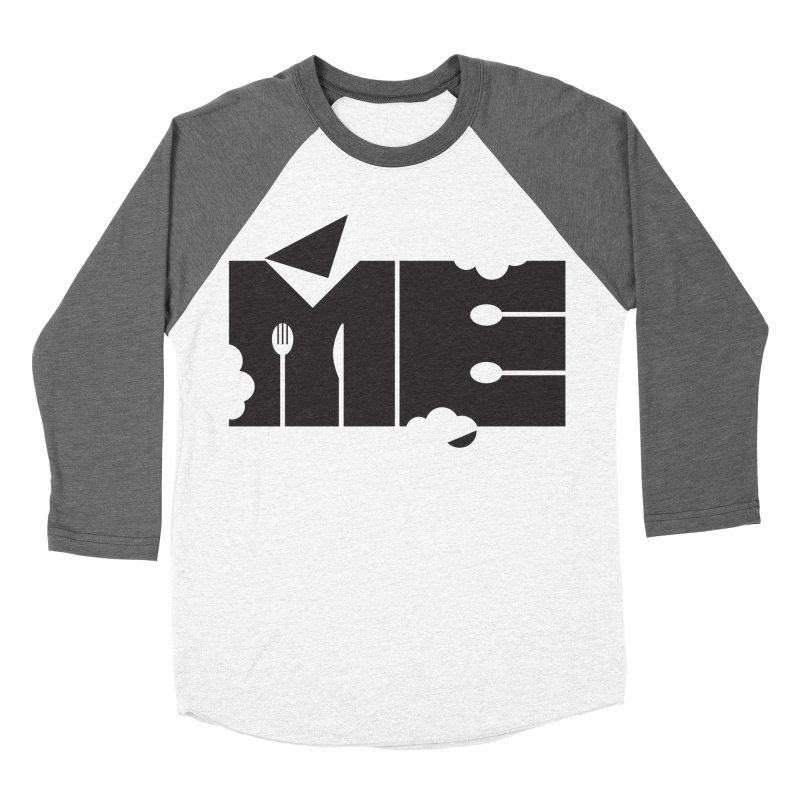 Bite Me Men's Baseball Triblend T-Shirt by FayeKleinDesign's Artist Shop
