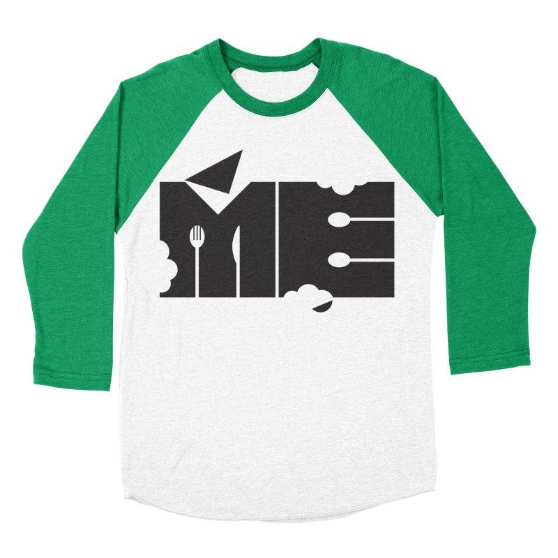 Bite Me Men's Baseball Triblend Longsleeve T-Shirt by FayeKleinDesign's Artist Shop