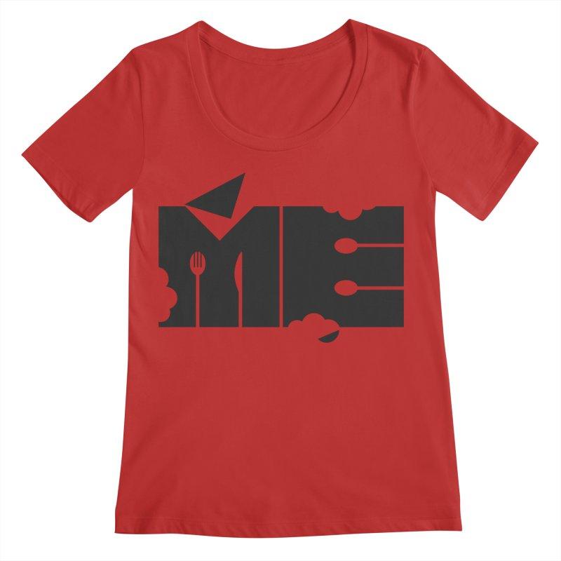 Bite Me Women's Regular Scoop Neck by FayeKleinDesign's Artist Shop