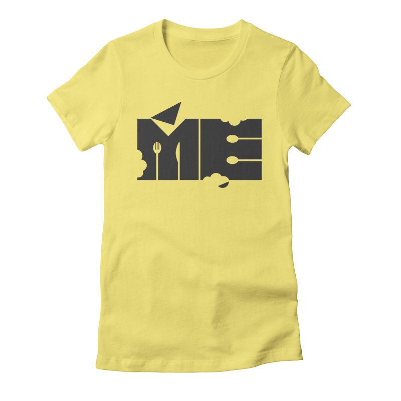 Bite Me Women's Fitted T-Shirt by FayeKleinDesign's Artist Shop