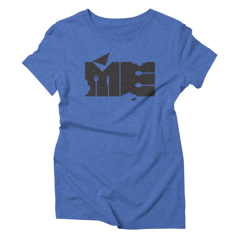 Bite Me Women's Triblend T-Shirt by FayeKleinDesign's Artist Shop