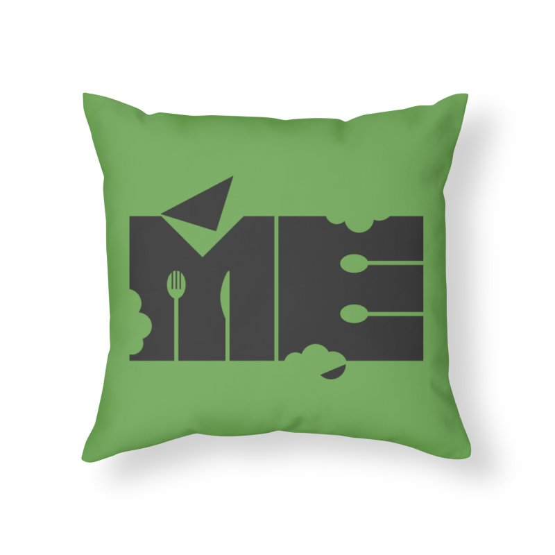 Bite Me Home Throw Pillow by FayeKleinDesign's Artist Shop
