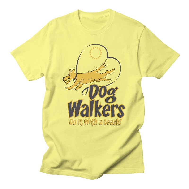 Dog Walkers Do It With a Leash Men's Lounge Pants by FayeKleinDesign's Artist Shop