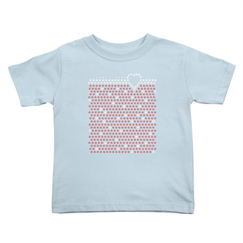 Paws for Love Kids Toddler T-Shirt by FayeKleinDesign's Artist Shop