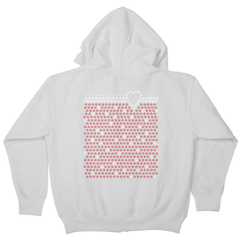 Paws for Love Kids Zip-Up Hoody by FayeKleinDesign's Artist Shop