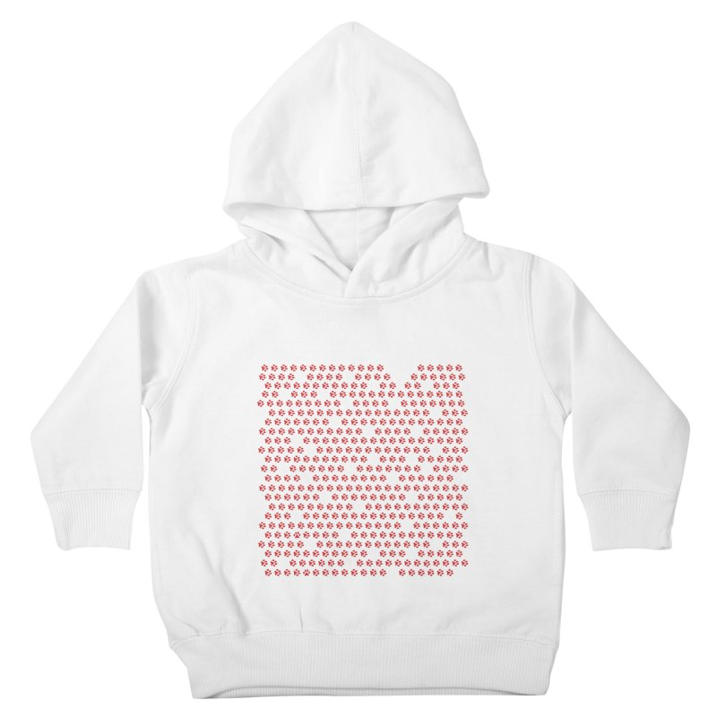 Paws for Love Kids Toddler Pullover Hoody by FayeKleinDesign's Artist Shop