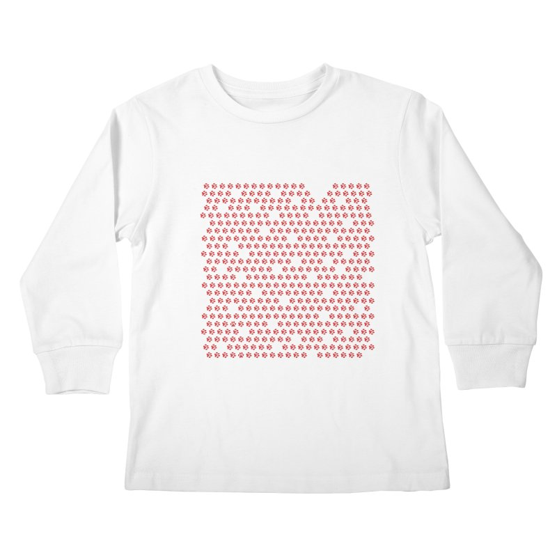 Paws for Love Kids Longsleeve T-Shirt by FayeKleinDesign's Artist Shop