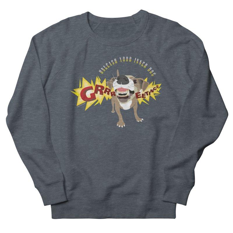 Unleash Your Inner Dog Women's French Terry Sweatshirt by FayeKleinDesign's Artist Shop