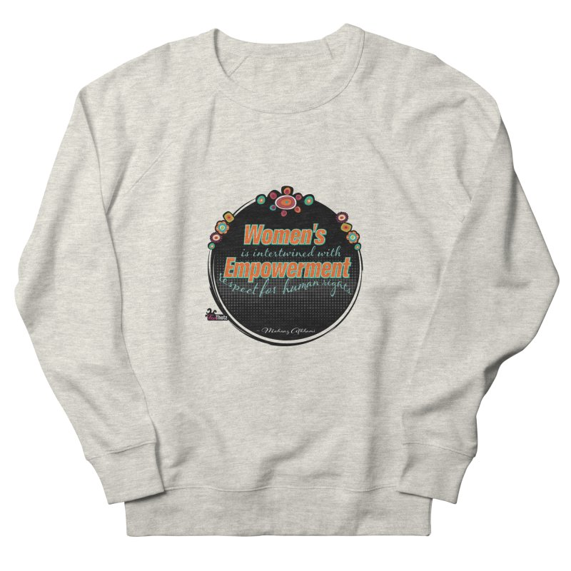Intertwined with respect Women's French Terry Sweatshirt by FemThotz's Artist Shop