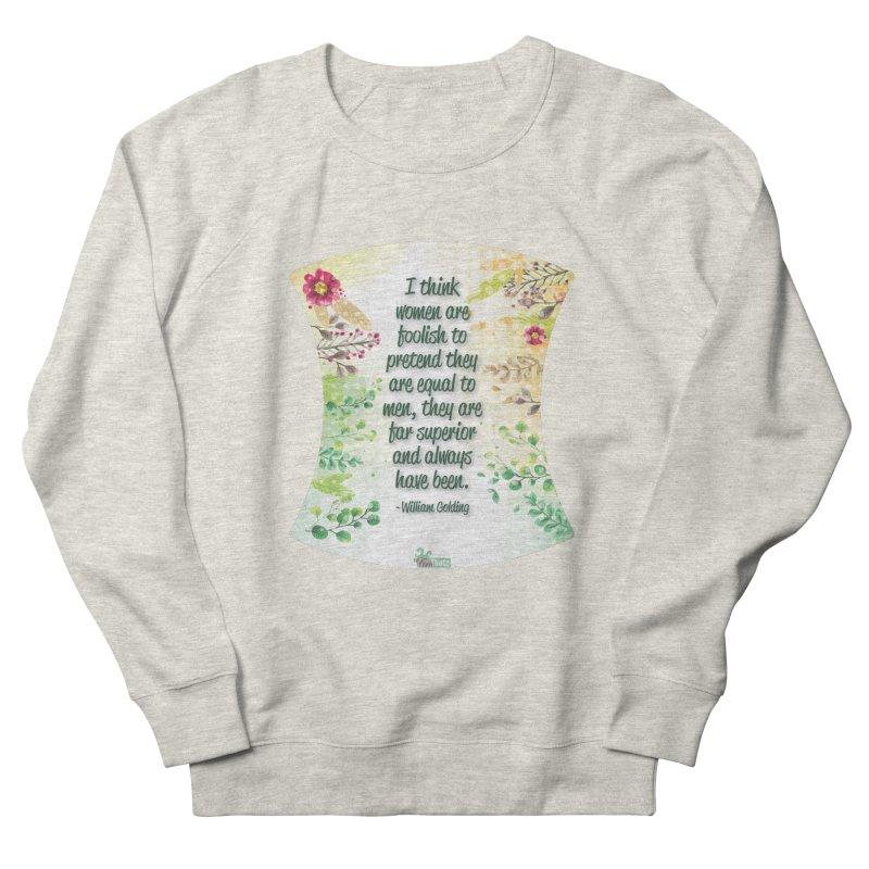 Superior Women's French Terry Sweatshirt by FemThotz's Artist Shop