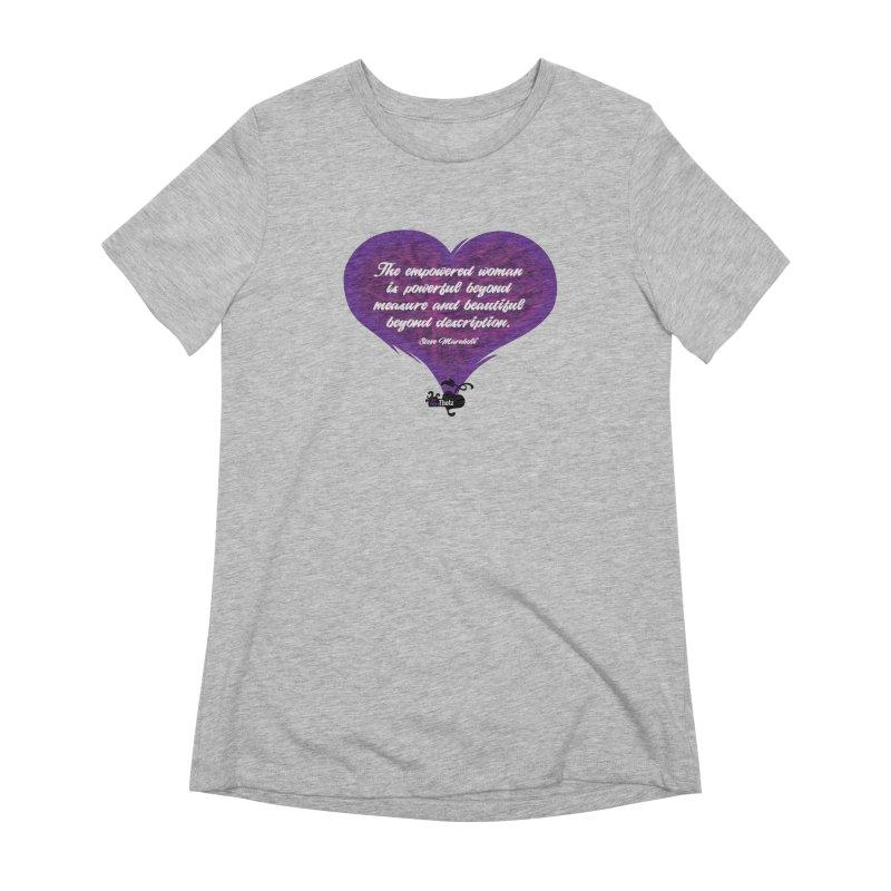 Beyond description Women's Extra Soft T-Shirt by FemThotz's Artist Shop